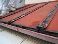 屋根葺き替え工事前