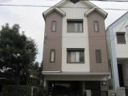外壁塗装、屋根パラサーモ塗装工事後