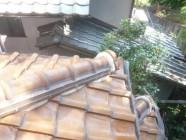 屋根塗装、防水工事前