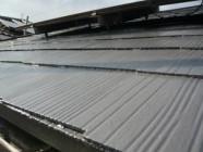 屋根(パラサーモ)塗装工事後