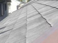 屋根(パラサーモ)塗装工事前