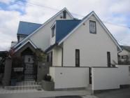 外壁、屋根(パラサーモ)塗装工事後