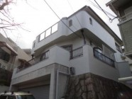 屋根パラサーモ塗装工事後